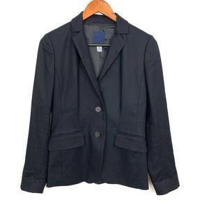 J. Crew Womens Navy Blue School Boy Blazer Jacket